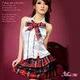 アキバ系赤チェック女子高生セーラー服 - 縮小画像1