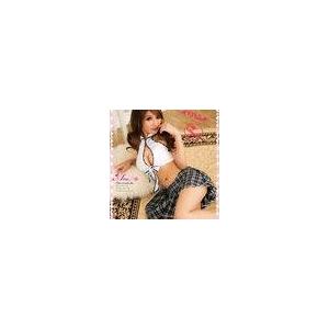 胸元セクシーミニスカセーラー服コスチュームセット  - 拡大画像