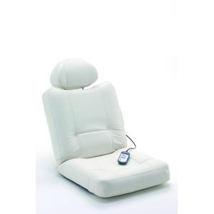 ぬくらくマッサージ座いす ホワイト