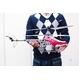村田製作所ジャイロ搭載 3chラジコンヘリコプター HELIMX レッド - 縮小画像4
