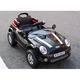 電動乗用ラジコン MINI CAR ミニクーパータイプ ブラック  - 縮小画像3