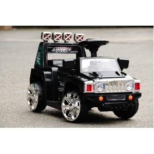 電動乗用R/C(ラジコン) NEW MINI SUV TYPE-A(ハマースタイル) ブラック - 拡大画像