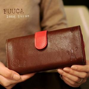 FUUCA(フウカ) 日本製本革財布(レザーウォレット) キャラメル - 拡大画像