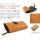 FUUCA(フウカ) 日本製本革財布(レザーウォレット) キャラメル - 縮小画像2