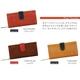 FUUCA(フウカ) 日本製本革財布(レザーウォレット) キャラメル - 縮小画像5