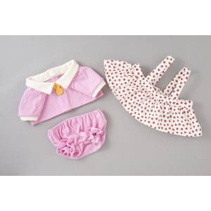 タカラトミー Healing Partner 夢の子コレクション 35 ポロシャツ&いちご柄スカート(パンツ付き)