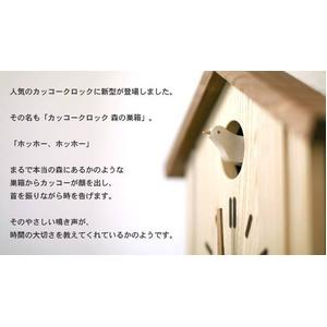 夢の子コレクション プレミアムコレクション 森の巣箱 カッコークロック - 拡大画像