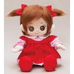 プチハピコレクション01赤色ワンピース(靴 リボン付)「うたこちゃん」専用お洋服