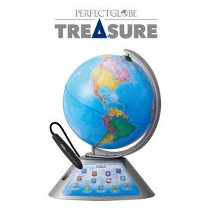 しゃべる地球儀 パーフェクトグローブ トレジャー TRESURE - 拡大画像