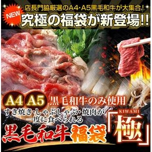 【A4・A5等級のみ】黒毛和牛究極福袋 1.8kg - 拡大画像