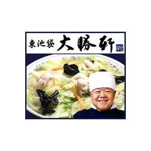 これぞ元祖つけ麺 東池袋大勝軒の「特製もりそば」「中華そば」「復刻タンメン」 (2食×3 計6食セット) - 拡大画像