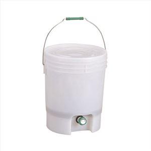 生ゴミ処理機/生ごみ処理容器【18L】直径約310×387mm『EMエコペール』〔キッチン台所〕