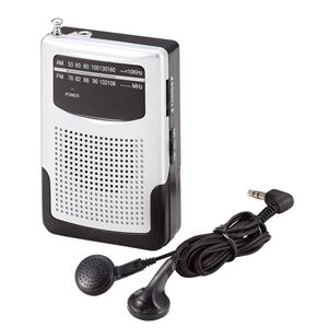 FS-054 AM/FMポケットラジオ - 拡大画像