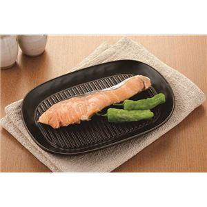 直火やグリルで魚や肉が焼け、電子レンジで調理もできるお皿 It's 焼(Show) Time -イッツ・ショー・タイム-