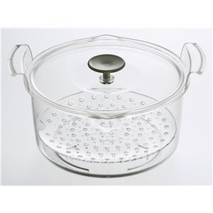 電子レンジ専用保温調理鍋 Grand Cooker (グランクッカー) レッド RE-1525
