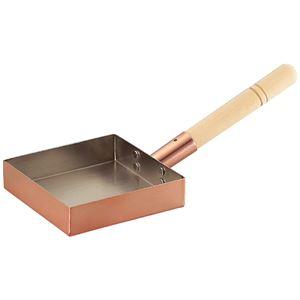 アサヒ 本職用玉子焼き15cm (銅製品) CNE-115 - 拡大画像