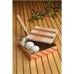 アサヒ 本職用玉子焼き18cm(木蓋付) (銅製品) CNE-117
