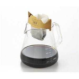 コーヒーサーバー 【ブラック】 850ml 約150×122×137mm 日本製 5杯分 電子レンジ対応 箱入り 『ストロン』 〔キッチン 台所〕