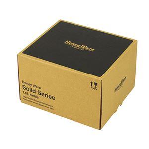 SD-1.6K・R ハニーウェア ソリッドシリーズ 1.6Lケトル レッド