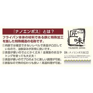 KS-3042 匠味 鉄フライパン23cm (箱入)