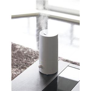 アロマ超音波式加湿器 【約150×135×280mm】 簡単操作 コンパクト 箱入り 〔リビング ベッドルーム 寝室〕