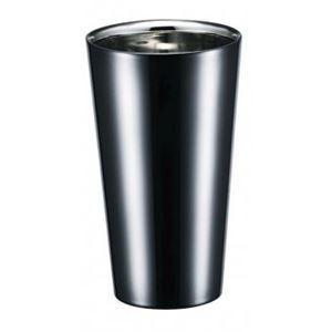2重 ストレートカップ/タンブラー 【270ml】 日本製 ステンレス Made in TSUBAME 認定品 『ブリリアント・ブラック』