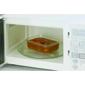 エスコート耐熱ガラス保存容器3個セット(大・中・小)