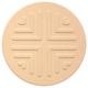コースター【吸水コースター】いつでもさらさら (エンボス丸型 10枚セット(珪藻土)) - 縮小画像1