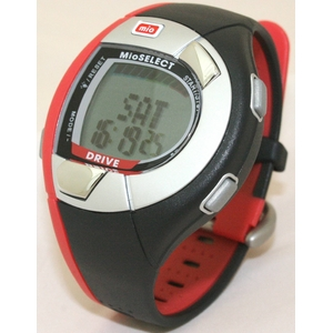 Mio(ミオ) 心拍計測機能付きスポーツ腕時計 Drive(ドライブ) - 拡大画像
