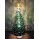 ステンドガラス製 クリスマスツリーランプ 写真1