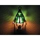 ステンドガラス製 クリスマスツリーフットランプ(グリーン) 写真1