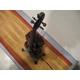 暖かな光のバイオリンランプ 写真5
