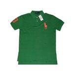 ポロラルフローレン ポロシャツ グリーン Lサイズ