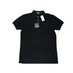 POLO Ralph Lauren(ポロ ラルフローレン) ビッグポニーポロシャツ(半袖) カスタムフィット ブラック×ブラック Sサイズ【送料無料】