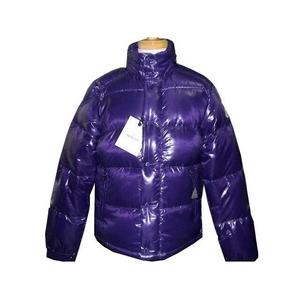 Moncler(モンクレール) ダウンジャケット EVER(エバー) シャイニーパープル メンズサイズ 3 - 拡大画像