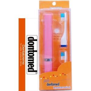 HandyWave ドントメッド煉歯磨きセット ピンク【2個セット】 - 拡大画像