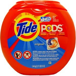 洗濯用洗剤 TIDE PODS(タイドポッズ)オリジナル51oz(57回分)