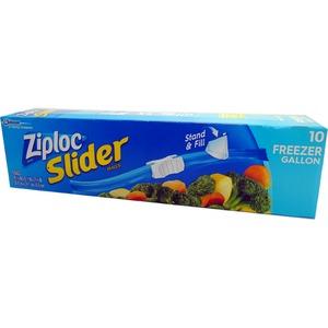 Ziploc イージージッパー フリーザーバック 10P 【3個セット】