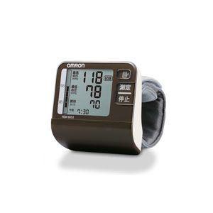 OMRON(オムロン) 手首式血圧計 HEM-6053-BW ブラウン - 拡大画像