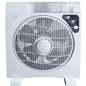 AL COLLE(アルコレ) ソーラー扇風機(LEDライト付き) ALF300W - 拡大画像