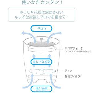 CARL TECHNO(カールテクノ) soyogi アロマ空気清浄器 AAP-300R ローズ