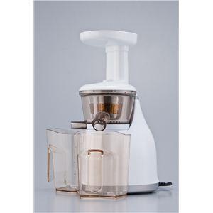 【2012年2月29日まで期間限定値下げ】HUROM(ヒューロム) 低速ジューサー SLOW JUICER(スロージューサー) ホワイト HU-300W