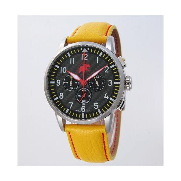 【訳あり・在庫処分】【訳あり商品:電池切れ】HUNTING WORLD(ハンティングワールド) 腕時計 カンガ クォーツ イタリア製 HW013YL 黄革f00