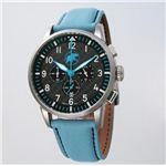 HUNTING WORLD(ハンティングワールド) 腕時計 カンガ クォーツ イタリア製 HW013BL 青革