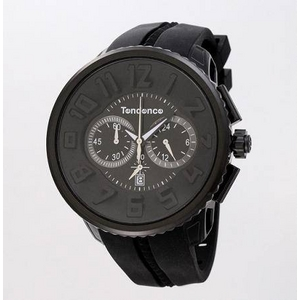 TENDENCE(テンデンス) 腕時計 02036010AA ブラック - 拡大画像