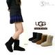 海外セレブも注目!シープスキンブーツブランド「UGG」のブーツ(黒・7インチ) 写真4
