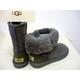 海外セレブも注目!シープスキンブーツブランド「UGG」のブーツ(グレー・7インチ) 写真2