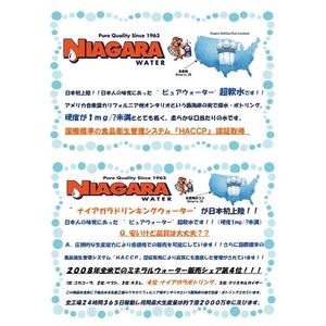 ナイアガラ・ドリンキングウォーター(500ml×48本)