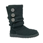 【UGG(アグ) AUSTRARIA】 ブーツ Classic Cardy Boots/BLACK★US7
