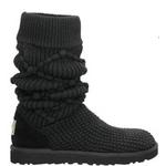 【UGG(アグ) AUSTRARIA】 ブーツ Classic Argyl Knit Boots/BLACK★US6